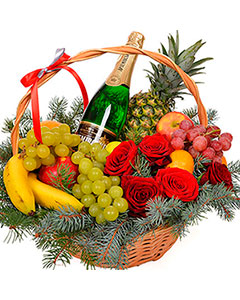 Basket Happy New Year!