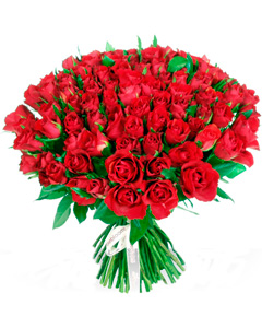 Classical bouquet of  roses