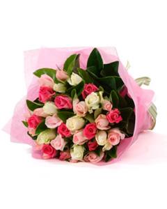 Bouquet of Multi Colour Roses