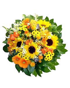 Seasonal mixed bouquet #1