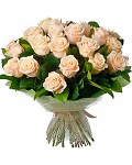 Bouquet creamy roses