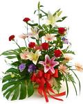 Traditional basket arrangement