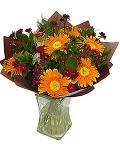 Orange gerbera bouquet