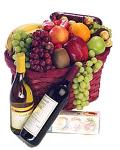 Gourmet Food & Wine Gift Basket