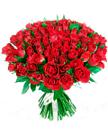 Classical bouquet of 101  roses