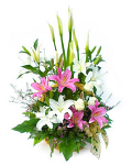 Beautiful basket arrangement