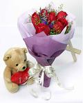 Roses & A Bear