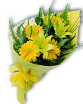 Bouquet of gerberas and lilies