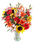 Seasonal mixed bouquet #3