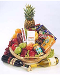 Gourmet Food & Wine Gift Basket