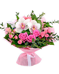 """Bouquet """"Pink Style"""""""